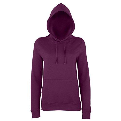 AWDis Just Hoods - Sweatshirt à capuche - Femme Prune