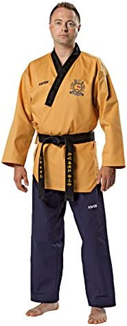 62ab5906dd KWON poomsae Grand Master uniforme, Coloreeee giallo oro blu scuro,  dimensioni 180 cm B01I4RR2M4 Parent | Bella E Affascinante | Durevole |  Moda E Pacchetti ...