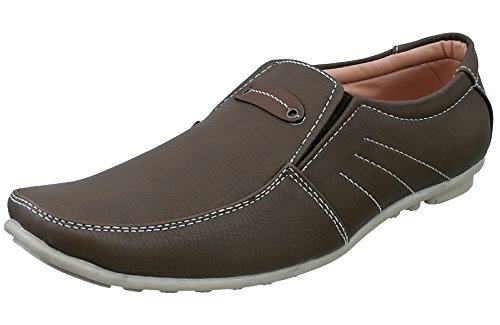 Marshal Men's Cheeku Slip On Big Size Corporate Casual Shoes 11 Size UK