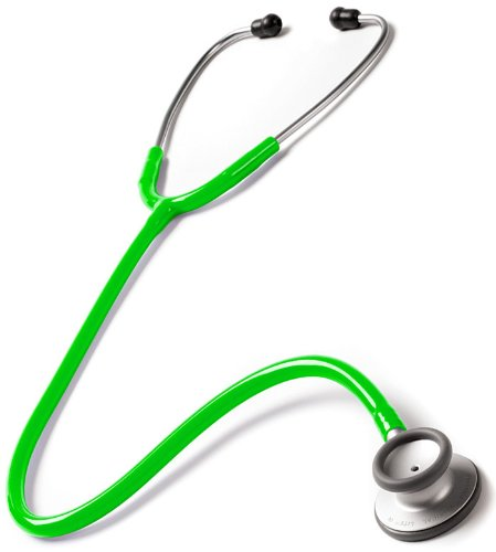 NCD Medical-F-PUR Stethoskop Neon Grün