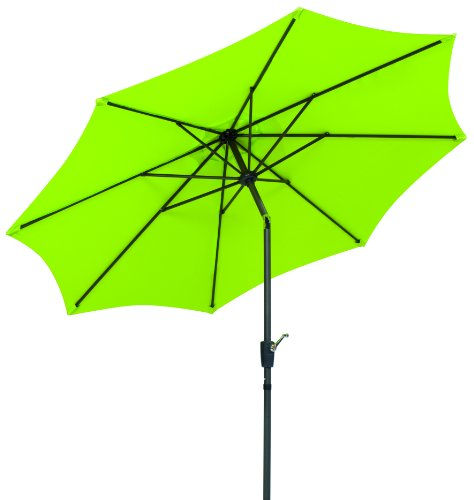 Schneider Sonnenschirm Harlem, apfelgrün, 270 cm rund, Gestell Aluminium/Stahl, Bespannung...