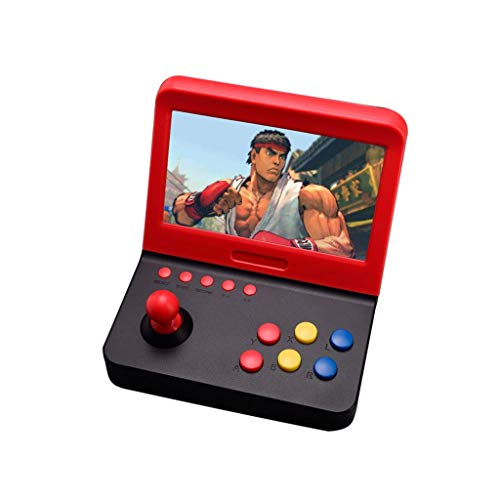 HSKB Handheld Spielkonsole, Konsole Spielkonsole Classic Portable Retro Game Player Game 7,0 Zoll Built in 3000 Classic Retro Video Spiele Family TV Games für Junge und Mädchen Toys Tv Built In Dvd Player