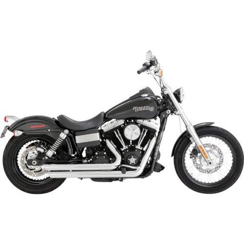 Preisvergleich Produktbild Vance & Hines Staggered Big Shots Slash-Cut Harley Davidson Dyna 2012-2014