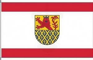 Königsbanner Hissflagge Sankt Goar - 60 x 90cm - Flagge und Fahne