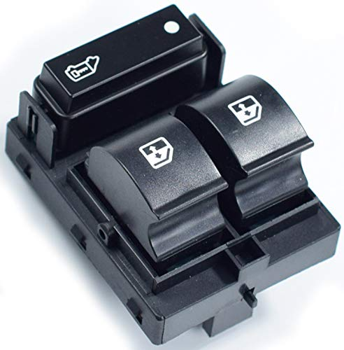 Feycar® 6490.X8 6490.X9 6554.XN Master Schalter Konsole Fensterheber schalter Knopfschalter kompatibel für Fiat Ducato, Peugeot Boxer, Citroen Jumper, Modelle ab 2006 - 735421419 (1PCS)