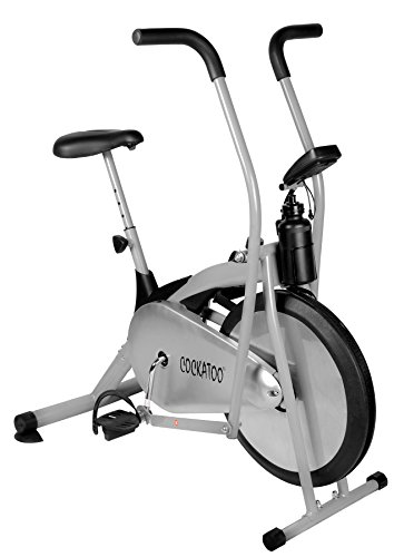 Cockatoo Imported Air Bike Multifunction Function / Exercise Bike (Cycle & Cross Trainer)