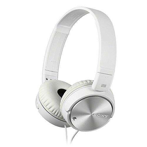 Sony MDR-ZX110NAW Mini Headband Cuffia, Bianco