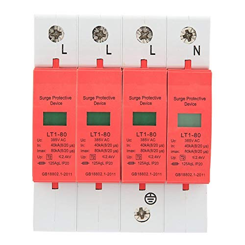 Haus Überspannungsschutz Niederspannungs Überspannungsableiter LT-40/80 4P 40-80KA 385V AC