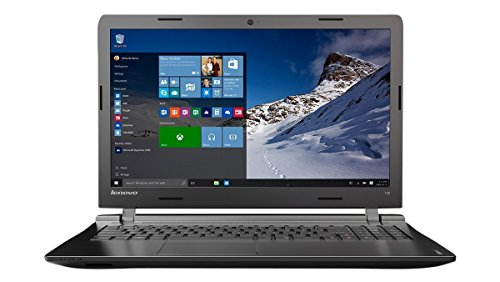 LENOVO IDEAPAD 100-15IBY - PORTATIL DE 15 6 (INTEL CELERON N2840  4 GB DE RAM  DISCO HDD DE 500 GB  INTEL HD GRAPHICS  WINDOWS 10 HOME)  COLOR NEGRO -TECLADO QWERTY ESPAñOL