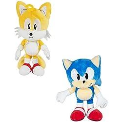 Sonic Boom–Sonic–12Inch Osito de Peluche–Recieve ni un o de Sonic Colas en Random- t22538a