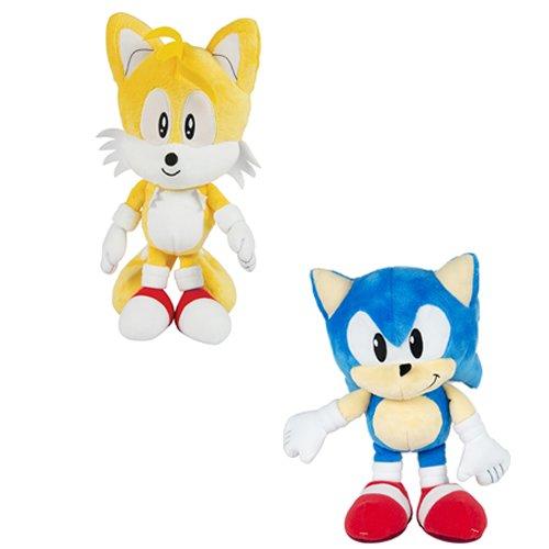 Sonic Tails Und (Sonic Boom Classic Sonic–30,5cm Plüsch Teddy–erhalten Sie entweder eine Sonic oder Tails bei random-)