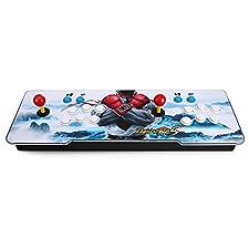 Goolsky Pandoras Box Arcade Video Game Machine Doble Arcade Joystick con 1299 Juegos Clásicos en el Interior