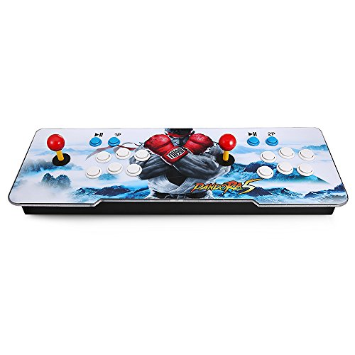Goolsky Pandoras Box Arcade Video Game Machine Doble Arcade Joystick con 1299 Juegos Clásicos en el Interior