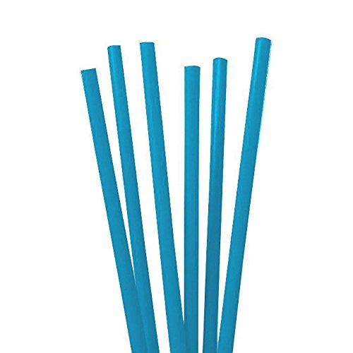 tib 10062 Strohhalme Set 135 Stück pro Beutel, Farbe Blau, One Size