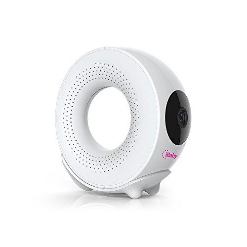 iBaby M2 Plus Baby Monitor mit 1080P-Videofunktion, Temperatur- / Feuchtigkeitsüberwachung, 2-Wege-Audio, Nachtsicht, Bewegungs- und Tonwarnungen, Musikplayer und Schlaflieder