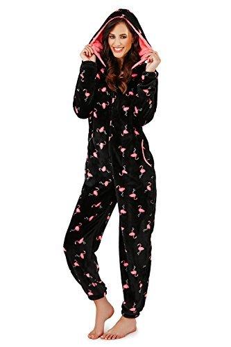 Loungeable,Damen Weich Luxus Komfort Nachtwäsche Schlafanzug Onesie