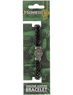 Guinness Armband aus geflochtenem Leder