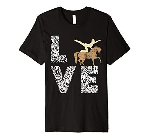 Voltigieren Akrobatik Gymnastik Turner T-Shirt Geschenke