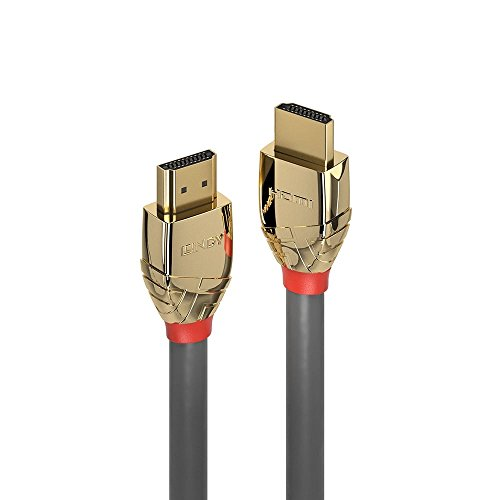 LINDY 37863 High Speed HDMI Kabel, 3m Gold 3 Hdmi-kabel Gold