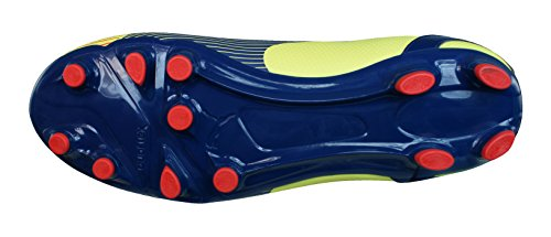 Puma evoSPEED 5 Graphic FG Homme Chaussures de football - Noir Rouge yellow