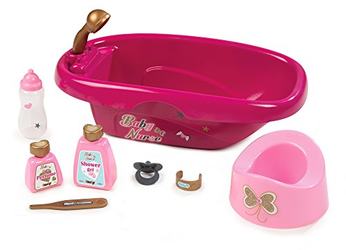 Smoby Baby Nurse doll bathtub, pink, 220330
