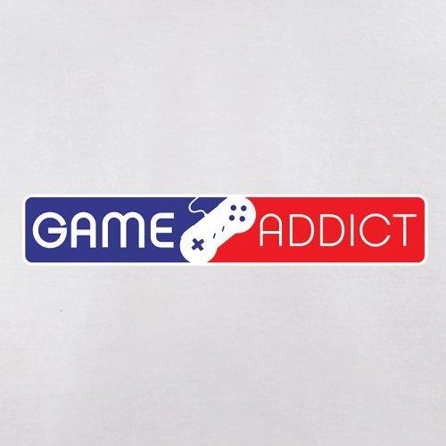 Game Addict - Herren T-Shirt - 13 Farben Weiß