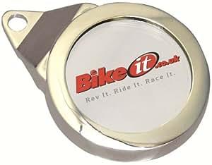 TDH003 - Bike It Classic Tax Disc Holder Chrome
