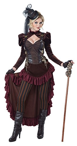 Fancy Dress Kostüm Steampunk - California Costumes Sexy Kostüm Steampunk Damen L (42/44)