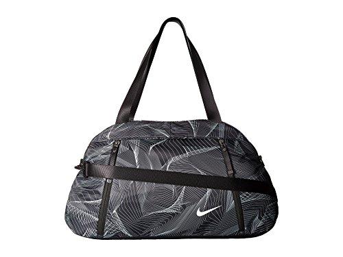 Nike Damen W NK Aura Club AOP Duffel Bag, damen, W Nk Aura Club Aop, Schwarz/Schwarz/Weiß