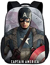 Preisvergleich für XIAODONG Captain America Rucksack-30 * 15 * 43cm,C-30 * 15 * 43cm