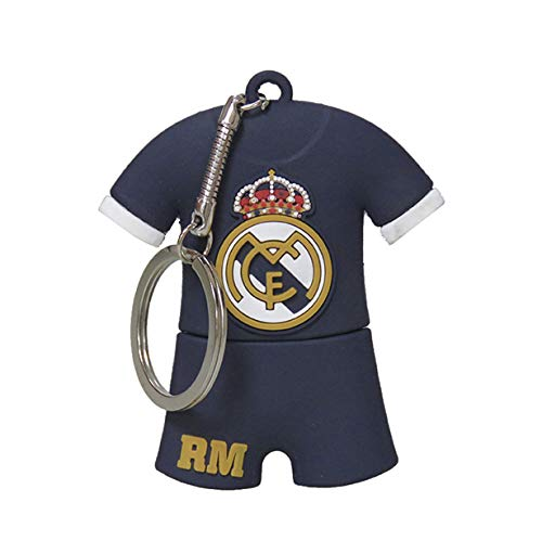 Real Madrid USB-13-RM Pendrive Rubber Camiseta