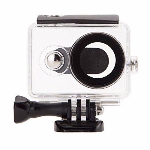 Galleria fotografica EACHSHOT® 40 m Mochalight-Custodia protettiva impermeabile per Xiaomi Yi-Action Camera, colore: nero