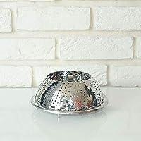 Anz - Buharda Pişirme Aparatı,Paslanmaz Metal,1 Adet