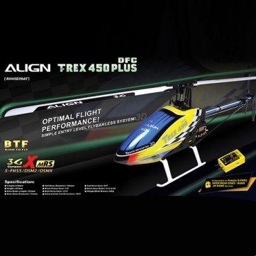 RICHTEN TREX 450 PLUS DFC BTF RH45E09A