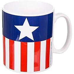 Taza Capitán América Uniforme