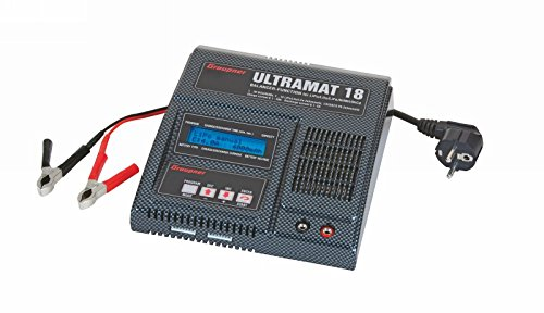 Graupner 6470 - Zubehör - Ultramat 18 Li, Pb, NiMH Ladegerät (12 Handwerker Volt-ladegerät)