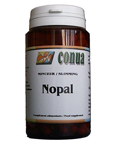Nopal satiety natural appetite suppressant facilitates intestinal transit 120 capsules (prickly pear) nopal cactus powder