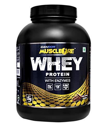 MuscleOre Whey Protein - 2 Kg / 4.4 lbs Irish Coffee