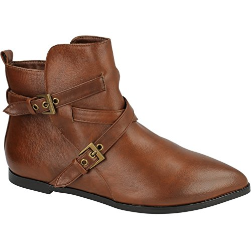 Spot On - Bottines - Femme Marron