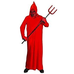 WIDMANN 599386031 - Disfraz de Diablo Infantil 128 cm de 5 a 7 años