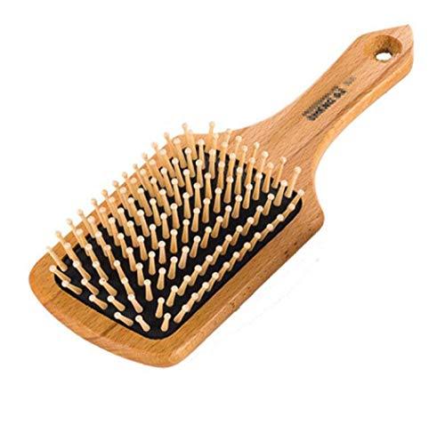 YANFAMING Brosse à Cheveux, Massage Airbag en Bois Peigne à Maquillage Antistatique