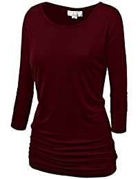 Match Damen 3/4 aermel T-Shirt #140