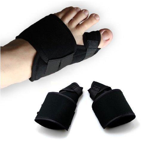 Druck Schienen (Magic Zone Hallux valgus Korrektur bandage Zehenspreizer Zehenkorrektur Hallux Valgus Schiene Ballenschutz, Für linke und rechte Fußgröße L , 1 Paar)