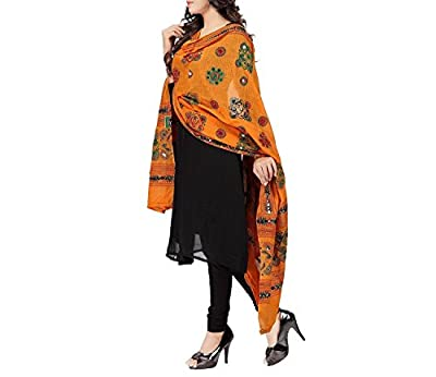 Sunrise Paridhan Women's Cotton Dupatta - SPMIR07_Multicolour_Free Size