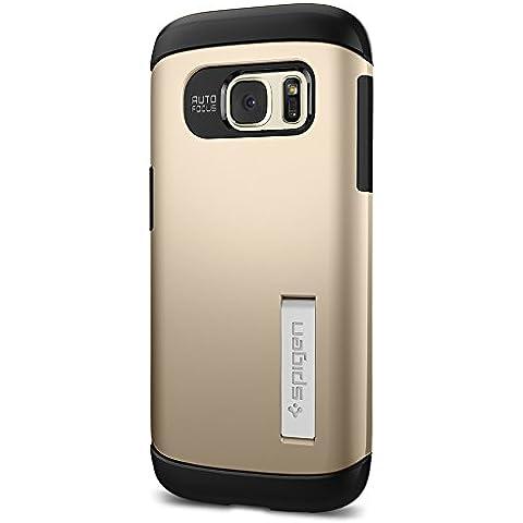 Spigen Slim Armor - Funda para móvil Samsung Galaxy S7, color dorado