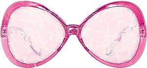 CREATIVE Blanco Fiesta Gafas de encaje en color de rosa