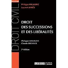 Droit des successions et des libéralités, 7ème Ed.