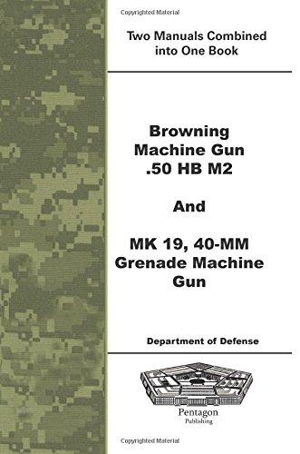 Browning Machine Gun .50 HB M2 and MK 19, 40-mm Grenade Machine Gun -