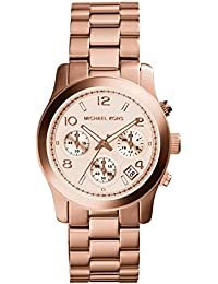 Michael Kors Women's 38mm Chronograph Gold Steel Bracelet & Case Watch MK5128