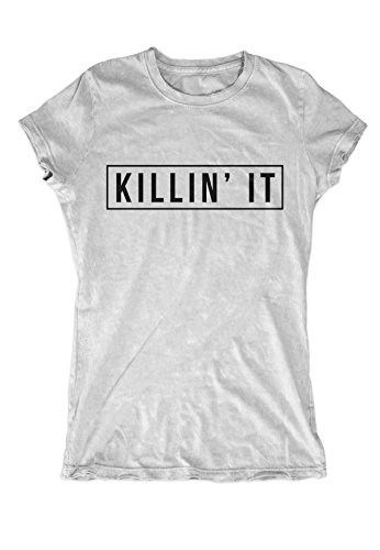 Killin' It Women's T-Shirt Grey Small